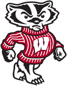 This is Bucky the badger, UW-Madison's mascot.
